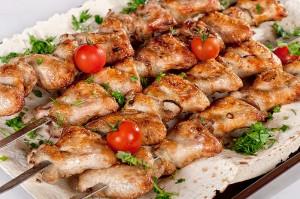 Куриный шашлык для тех, кто придерживается диеты!