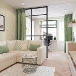 Сделайте маленькие комнаты больше — эффект большой комнаты с полосатыми обоями